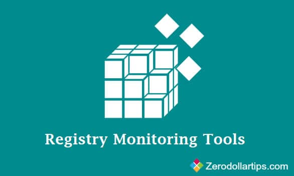 ... registry monitoring tools to monitor registry changes in Windows. Let